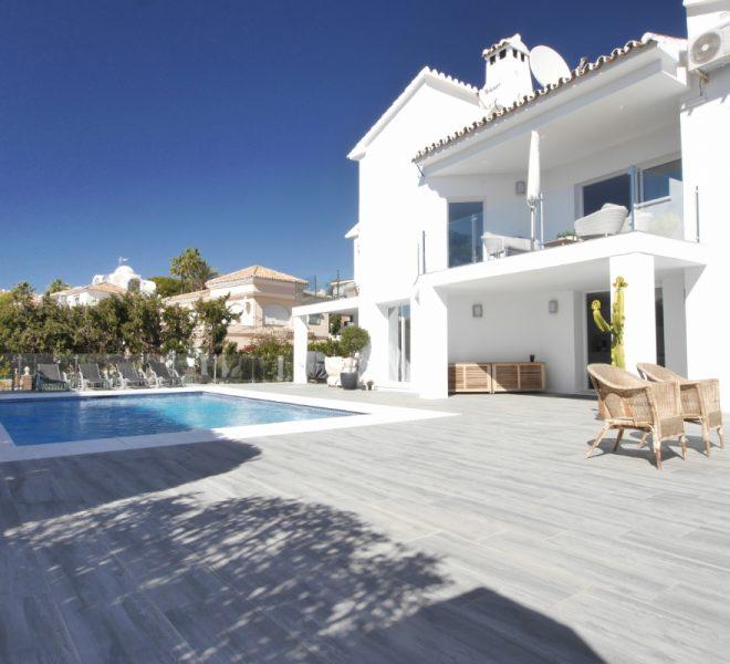ny modern villa til salg spanien