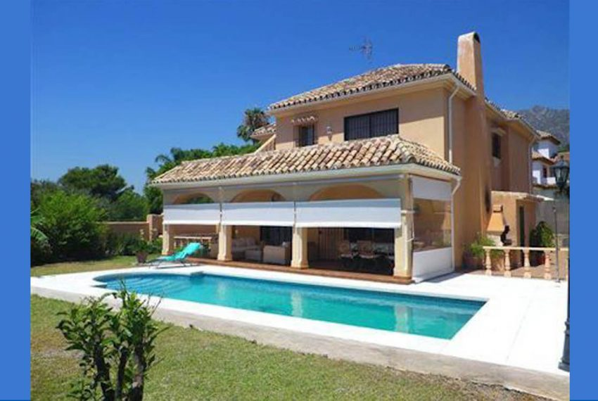 featured Villa i Marbella Centrum til salg