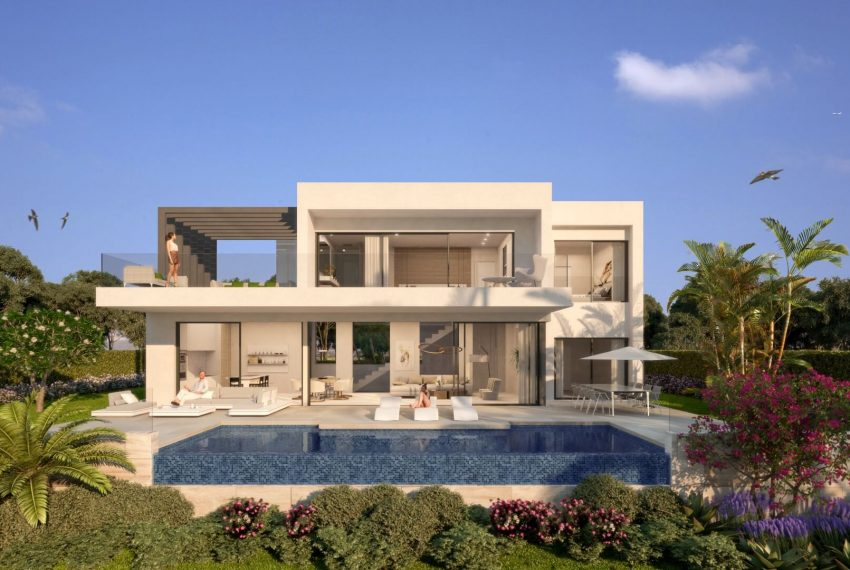 Nye off plan moderne Villa i Atalaya main image