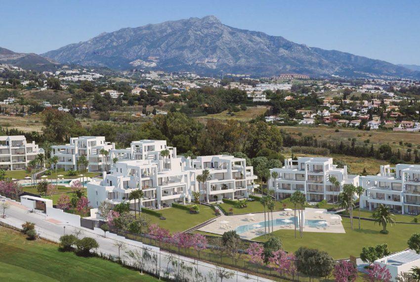 lejligheder og penthouses naer marbella bilde