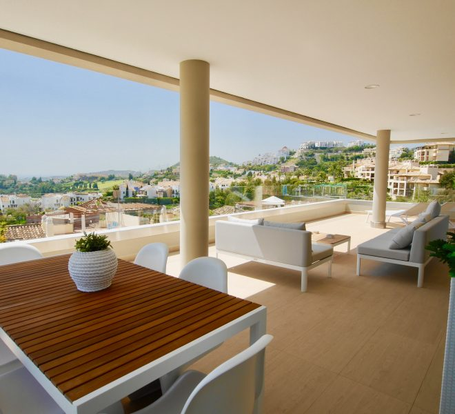 Penthouses af høj kvalitet og lejligheder i øst Marbella billede